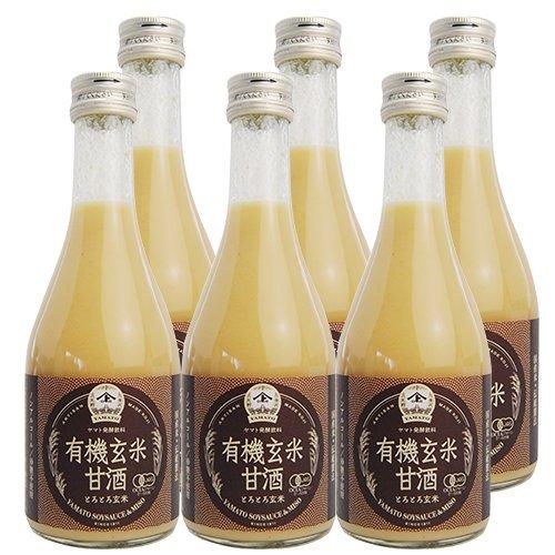 ヤマト醤油味噌 有機玄米甘酒(ゆうきげんまいあまざけ 300...