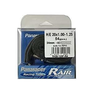 パナレーサー チューブ R'AIR [H/E 20x1.00~1.25] 仏式バルブ(34mm) TH20-125F-RA