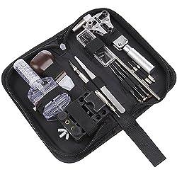 JOBSON™ 時計工具 セット PRO ( 15点 セット ) 電池交換   ベルト調整 JB1150 取扱説明書 [メーカー1年保証]