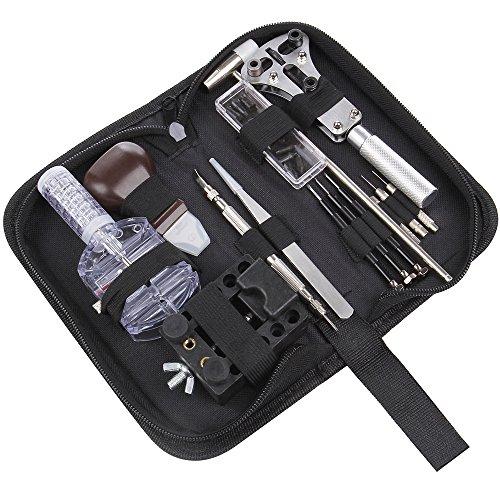 JOBSON? 時計工具 セット PRO ( 15点 セット ) 電池交換 / ベルト調整 JB1150 取扱説明書 [メーカー1年保証]