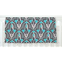 KESS InHouse Gukuuki Aramosha Blue Gray Fleece Baby Blanket 40 x 30 [並行輸入品]