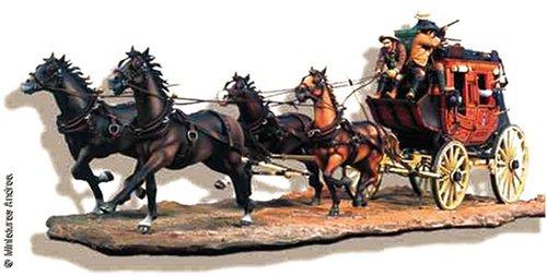 アンドレアミニチュアズ S4-S6 Stagecoach (1880)