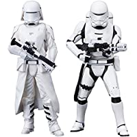 コトブキヤ ARTFX+ STAR WARS ファースト?オーダー スノートルーパー&ファースト?オーダー フレームトルーパー 2パック フォースの覚醒版 1/10スケール PVC製 塗装済み簡易組立フィギュア