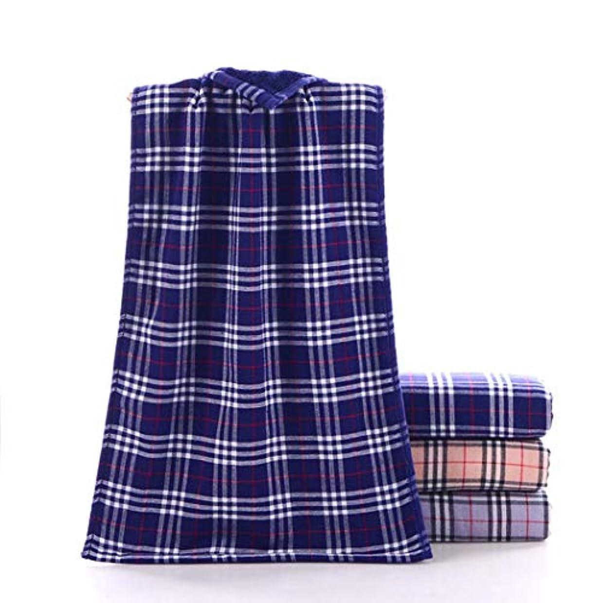 コットンハンドタオル非常に柔らかく、吸収性があり、毎日,Blue,34*75cm