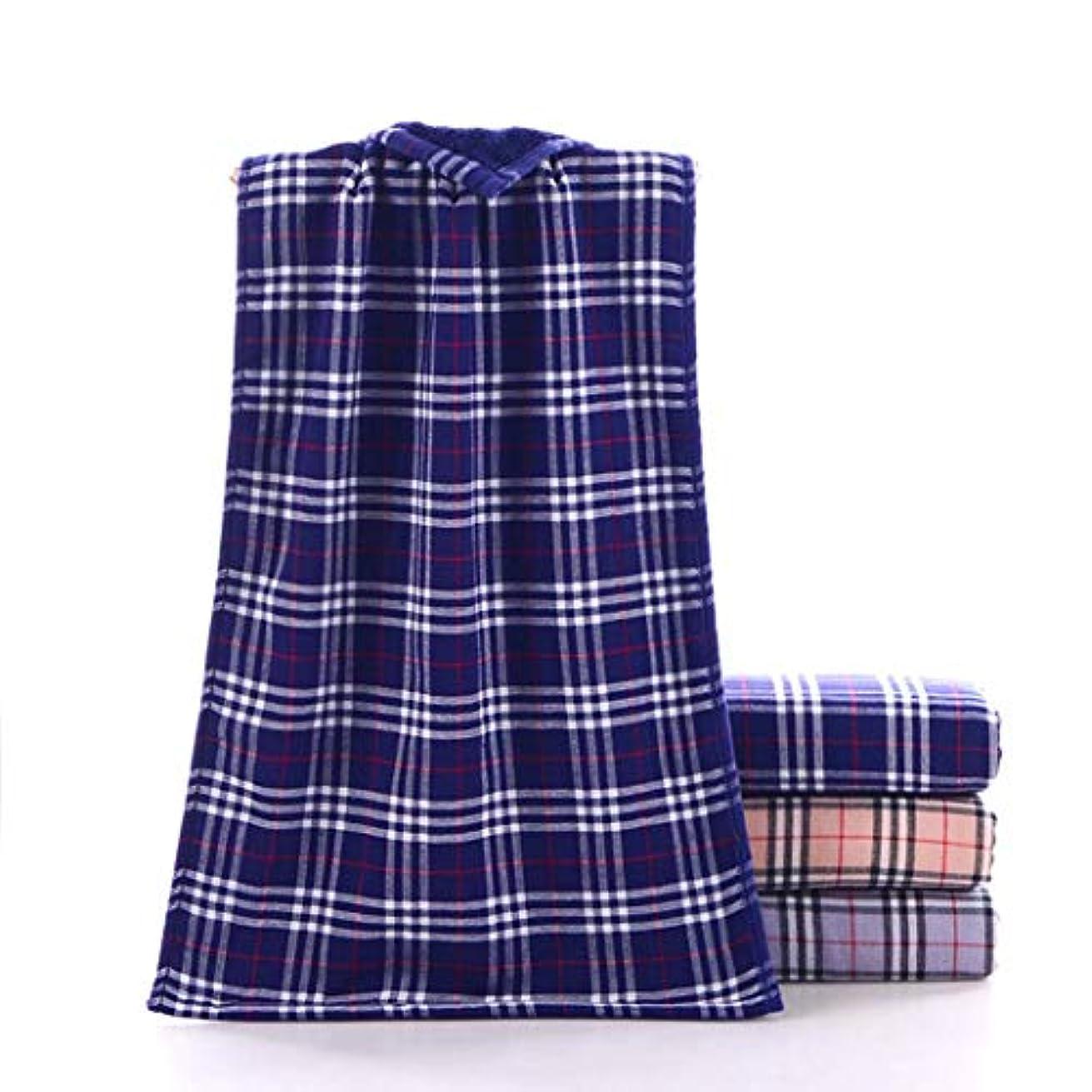さておき溢れんばかりの評価するコットンハンドタオル非常に柔らかく、吸収性があり、毎日,Blue,34*75cm