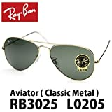 RayBan レイバン サングラス RB3025 L0205 アビエーター 2250 l0205 san010