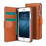 Apple Iphone 6S Plus/6 Plus Melkcoプレミアムレザー手作り良い保護、スリム、プレミアム感のある財布ブックタイププレミアムレザーケース