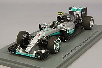 ☆ スパーク 1/43 メルセデス F1 W07 ハイブリッド 2016 F1 オーストラリアGP ウィナー #6 N.ロズベルグ