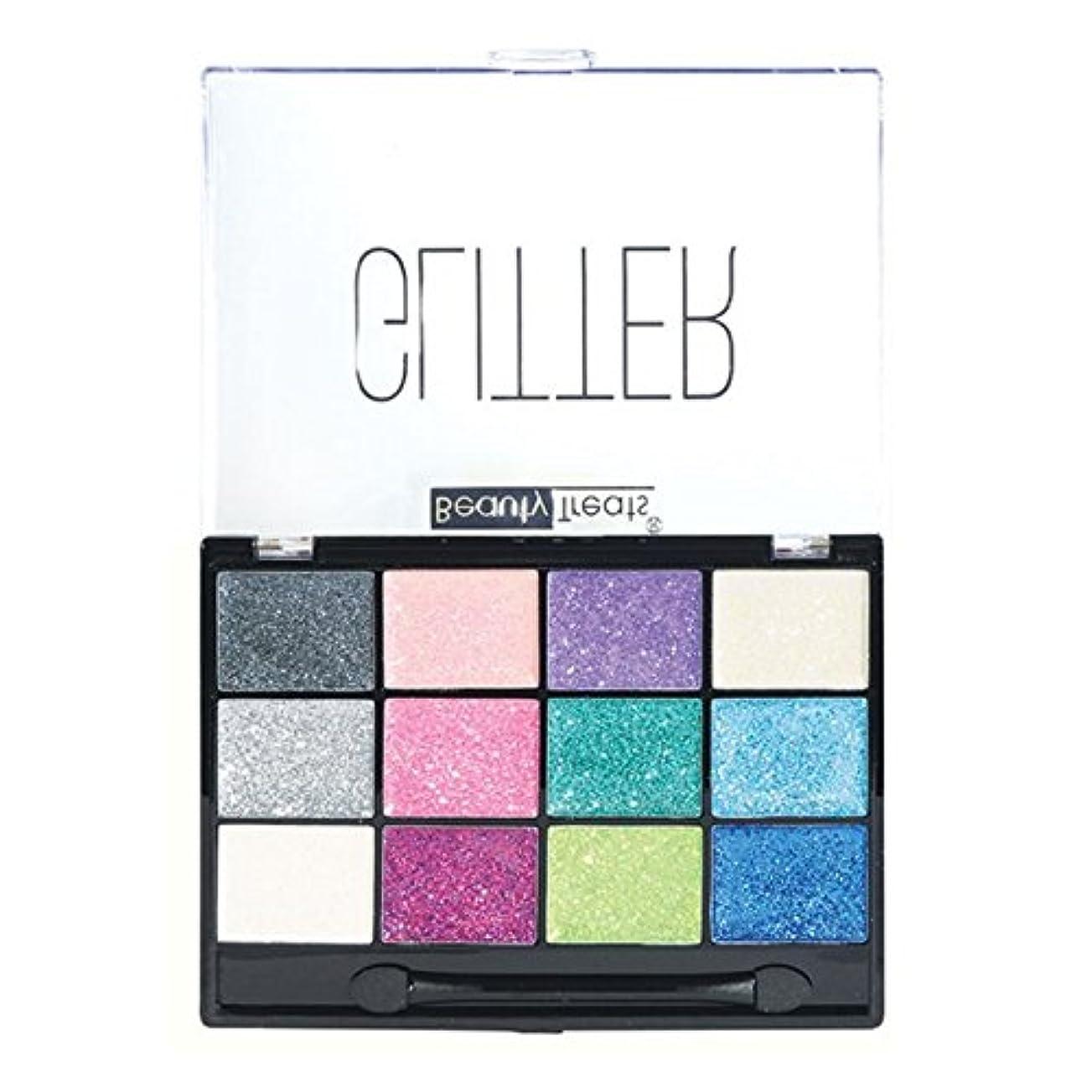 おじいちゃんオーガニック小間BEAUTY TREATS Sparkle Glitter Palette 1 (並行輸入品)
