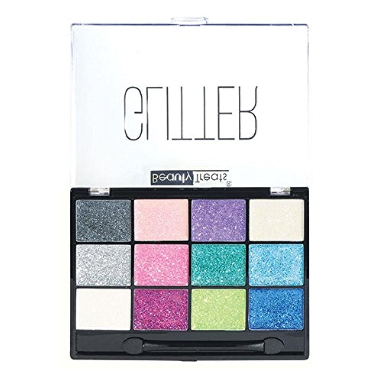 権限を与える保護する欠点BEAUTY TREATS Sparkle Glitter Palette 1 (並行輸入品)