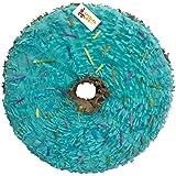 Doughnut Shape Pinata 41cm Teal Colour