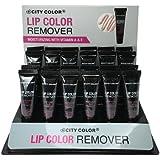 CITY COLOR Lip Color Remover Display Set - 24 Pieces (並行輸入品)