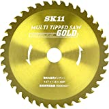 SK11(エスケー11) MULTIチップソーGOLD 電気丸鋸用 147mm 147X40P