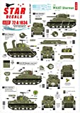 スターデカール 1/72 第二次世界大戦 アメリカ軍 M4A1シャーマン Dデイ75周年スペシャル フランス ノルマンディ 1944年 プラモデル用デカール SD72-A1034