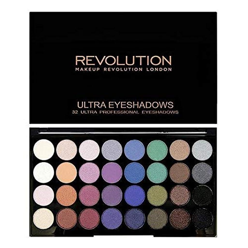 火山学スラックうるさい[Revolution ] 永遠に革命32アイシャドウパレット人魚 - Revolution 32 Eye Shadow Palette Mermaids Forever [並行輸入品]