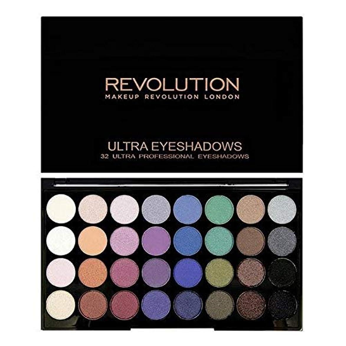 普通に化学に[Revolution ] 永遠に革命32アイシャドウパレット人魚 - Revolution 32 Eye Shadow Palette Mermaids Forever [並行輸入品]