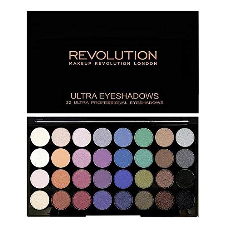 ベース恩赦ヒステリック[Revolution ] 永遠に革命32アイシャドウパレット人魚 - Revolution 32 Eye Shadow Palette Mermaids Forever [並行輸入品]