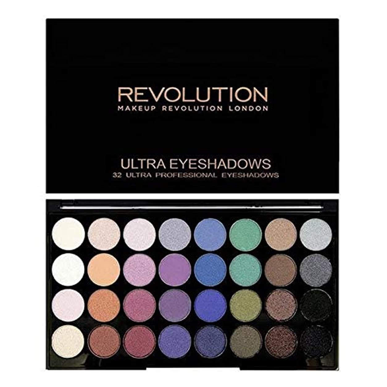 [Revolution ] 永遠に革命32アイシャドウパレット人魚 - Revolution 32 Eye Shadow Palette Mermaids Forever [並行輸入品]