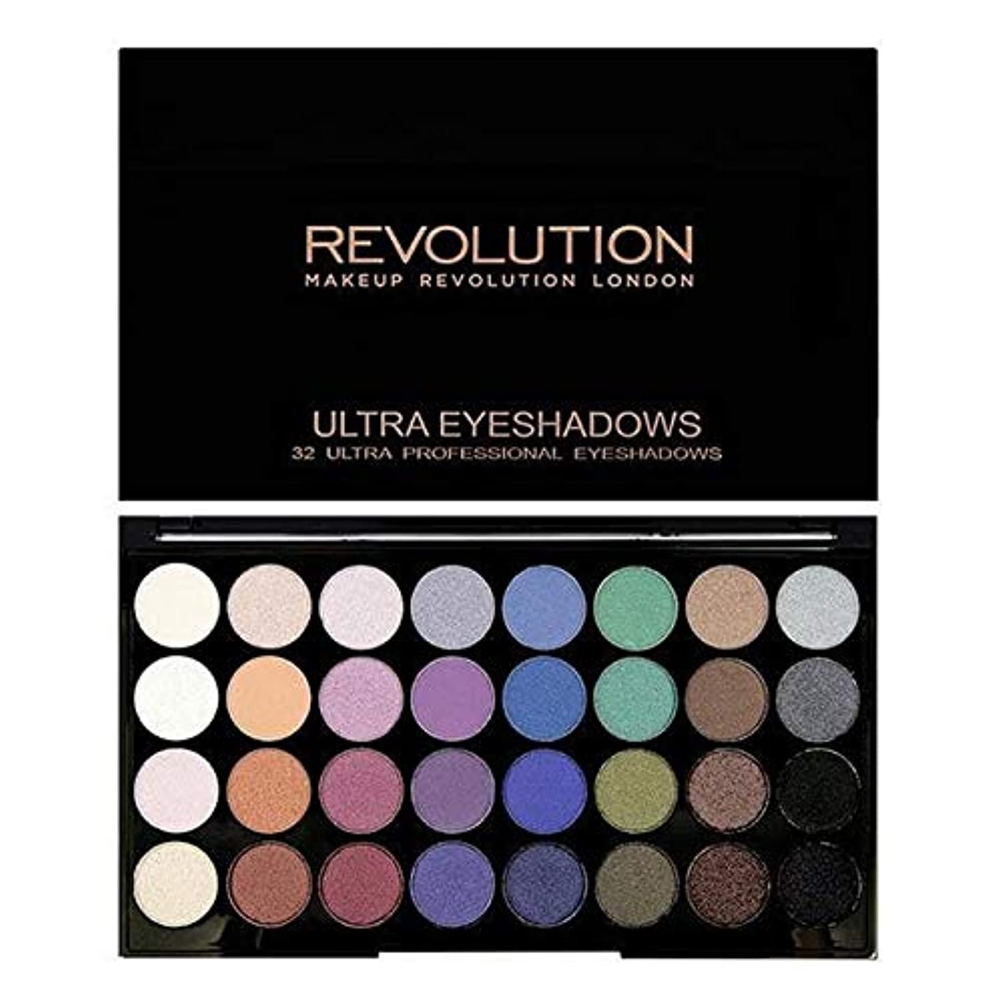 測定可能みがきます世界の窓[Revolution ] 永遠に革命32アイシャドウパレット人魚 - Revolution 32 Eye Shadow Palette Mermaids Forever [並行輸入品]