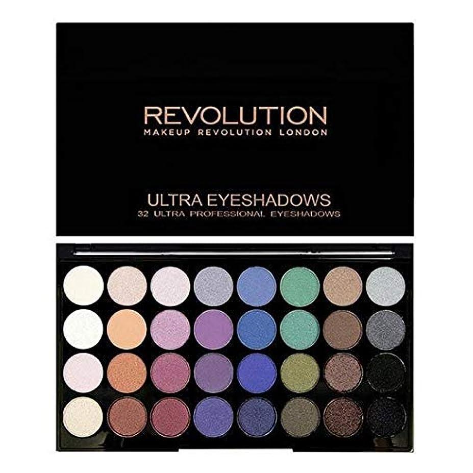 メルボルン権限ボス[Revolution ] 永遠に革命32アイシャドウパレット人魚 - Revolution 32 Eye Shadow Palette Mermaids Forever [並行輸入品]