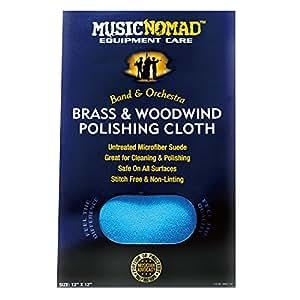 MUSIC NOMAD 管楽器メンテナンス用クロス 300 X 300mm MN730