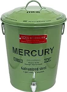 マーキュリー(Mercury) シャンプー用ディスペンサー フリーサイズ マーキュリーブリキ カーキ ME044563