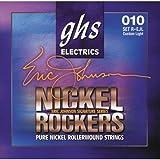 【 並行輸入品 】 GHS Strings Eric Johnson (ジョンソン) シグネチャー (Light)- Nickel Rockers ギター弦 - R+EJL