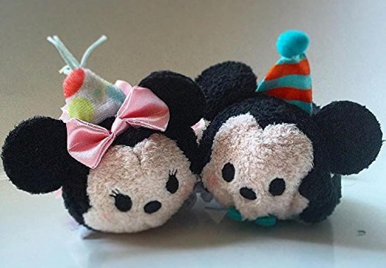 Disney 2016 Mickey Minnieマウス誕生日Tsum Tsumセット