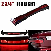 """2 3/4"""" LED Tail Brake Light Accent for Harley Touring Trunk roadKing Tour Pack"""