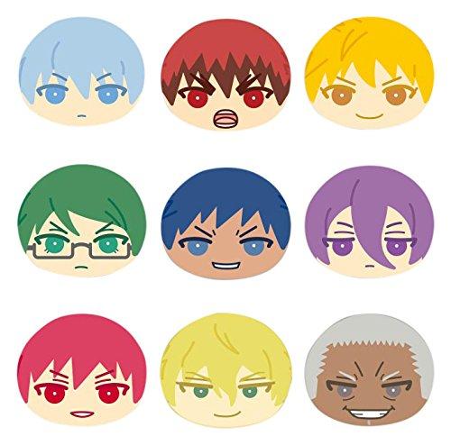 劇場版 黒子のバスケ LAST GAME おまんじゅう にぎにぎマスコット2 BOX商品 1BOX=9個入り、全9種類