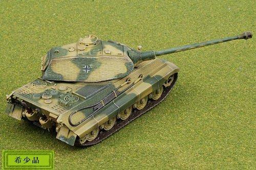 1:72 ドラゴン モデル 1:72 Armor Value シリーズ 62003 Henschel/Porsche Sd.Kfz.182 King Tiger ディスプレイ モデル German A
