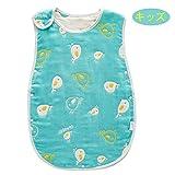 Hapipana 綿100% 6重ガーゼ スリーパーベビー キッズ 赤ちゃん コットン 柔らかい 寝冷え防止 (男の赤ちゃん, キッズサイズ)