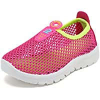 CIOR Kids Aqua Shoes Breathable Slip-on Sneakers for Running Pool Beach Toddler