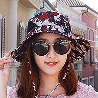 Women's Hat Ms Cap Outdoor Cap Summer Visor Sun Hat Outdoor Camo Hat Beach Cap (Color : The red, Size : -)
