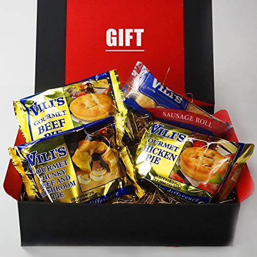 お歳暮 ミートガイ ビリーズ ミートパイ 4種セット ギフトボックス入りセット BEST OF VILI'S MEAT PIE SAMPLER GIFT BOX SET (3 MEAT PIES + 1 SAUSAGE ROLL) VALUE SET
