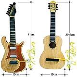 ウクレレ 木製 ukulele 初心者セット 子供用 ギター キッズ用 初心者 音が鳴る 可愛い 誕生日プレゼント 楽器玩具 初めてのギター (ブラウン)
