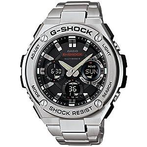 [カシオ]CASIO 腕時計 G-SHOCK ジーショック G-STEEL 電波ソーラー GST-W110D-1AJF メンズ