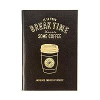 マークス ノート A6 コーヒー ブラック BREAKTIME ブレイクタイム ZRDNK-NB09-BK