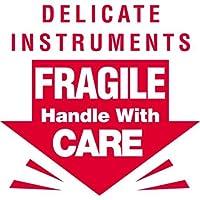 Generic DL1080 Delicate Instruments - Fragile Labels 3 Length x 3 Width [並行輸入品]