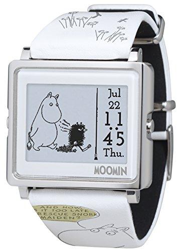 [エプソン スマートキャンバス]EPSON smart canvas ムーミンコミックス ひとりぼっちのムーミン 腕時計 W1-MM50110の詳細を見る