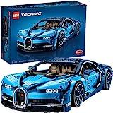 LEGO Technic Bugatti Chiron 42083 レースカービルディングキットとエンジニアリング玩具 大人用 コレクタブルスポーツカー スケールモデルエンジン (3599ピース) 3599 6213725