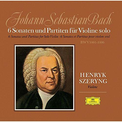 バッハ:無伴奏ヴァイオリンのためのソナタとパルティータ BWV1001-1006