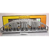 [M.T.H.]M.T.H. Electric Trains O Steel Arch Bridge, Silver MTH401101 [並行輸入品]