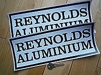 Reynolds Aluminium CanAm Group 3 McLaren Style Stickers Camel カンナム ステッカー デカール 300mm x 125mm 2枚セット