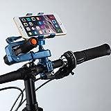 [シトリンフィッシュ] Citrinfishマウンテンバイク サイクリング 携帯 取り付け ラック 2カラー/ワンサイズ /ブレスレット付き/Y001 (ブルー)