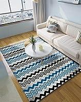 [スンル]ラグ 40*60cm ラグマット ラグカーペット 北欧 洗える おしゃれ 滑り止め付 防音 長方形 ホットカーペット対応 モダン リビング マルチスタイル 寝室 絨毯 敷物