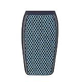 (ヴェルサーチ) Versace レディース スカート Knitted wool-blend stretch skirt [並行輸入品]