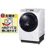 パナソニック 洗濯槽自動お掃除・ヒートポンプ乾燥機能付ドラム式洗濯乾燥機[左開き] クリスタルホワイト NA-VX7800L-W