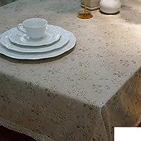 洗えるテーブルクロス テーブルクロス - シンプルな田舎のモダンなテーブルクロス生地テーブルクロステーブルクロス、B、140 x 220 cm(55 x 87インチ) (Color : B, サイズ : 40x60cm(16x24inch))