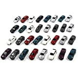 Evemodel 情景コレクション・自動車模型・ミニカー・モデルカー 1/150用 50台セット ランダム カラフル 情景コレクションザ・都市模型・ジオラマ・建築模型・教育・写真に